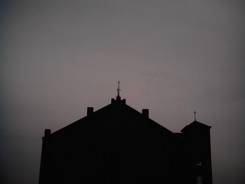 【画像】赤レンガ倉庫のシルエット