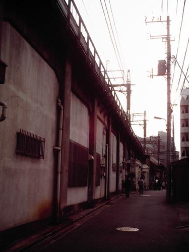 【画像】ポラデジ izone 550で撮影した東武伊勢崎線の高架下